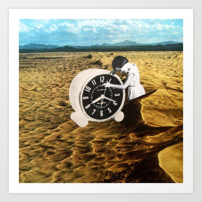 Time Zone 1 Art Print