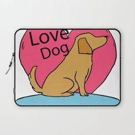Cute Lovely Dog Laptop Sleeve