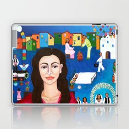 "Violeta Parra and the song ""Black wedding II"" Laptop & iPad Skin"