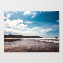 Bronze sand at Ohope Beach Canvas Print