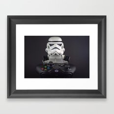 Because XBox One Framed Art Print