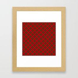 Tartan Plaid  Pattern Framed Art Print