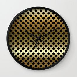 Detail - Holes in Blackburn, Lancashire Wall Clock