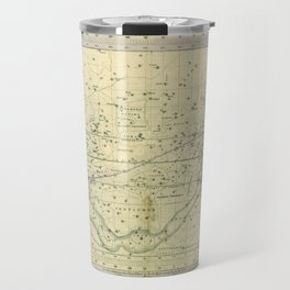 A Celestial Planisphere or Map of The Heavens Travel Mug