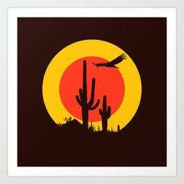 vulture song Art Print