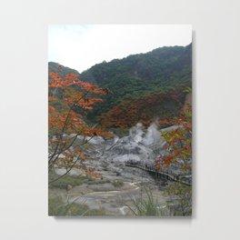 Japan - Hokkaido Spring Metal Print