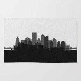 City Skylines: Pittsburgh (Alternative) Rug