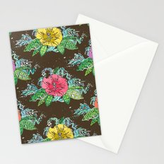 hibiscus surf coffee Stationery Cards