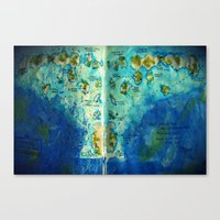 neverland Canvas Prints featuring Neverland by Tiny-firefly Art
