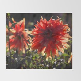 Keep Petaling Through Throw Blanket