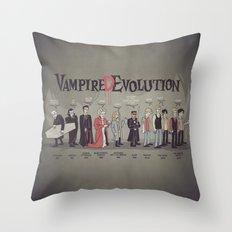 Vampire (D)Evolution Throw Pillow