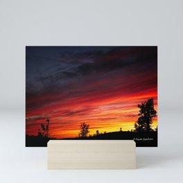 Sierra Sunset Mini Art Print