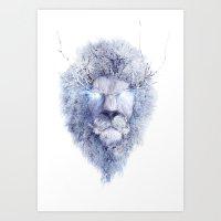 King Winter Art Print