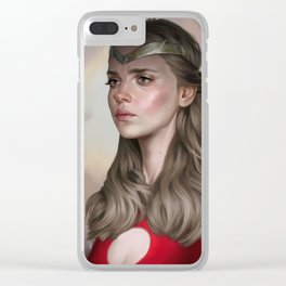 Triumphant in your mind Clear iPhone Case