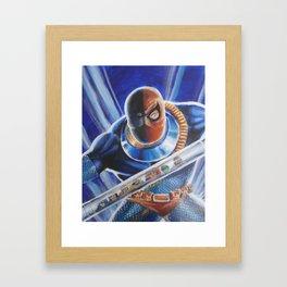 Terror of the Titans Framed Art Print
