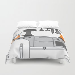 cooked glance Duvet Cover