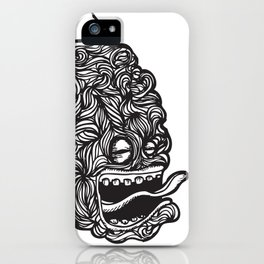 Hairy Smoke Bastard #1 iPhone Case