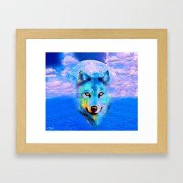 WOLF #2 Framed Art Print