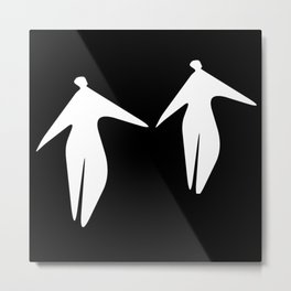 Two Angels Metal Print