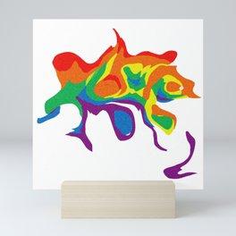 Rainbow Warp 6 Mini Art Print
