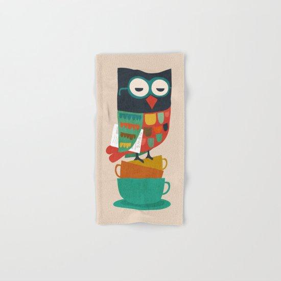 Morning Owl Hand & Bath Towel