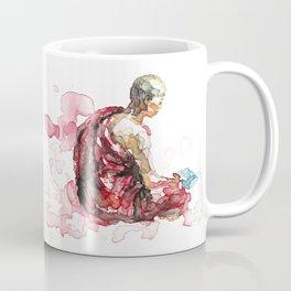 Reading monk Coffee Mug