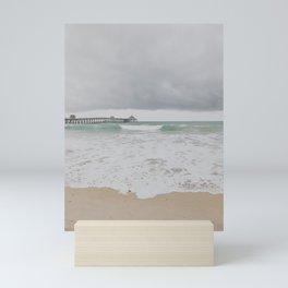 Storm Clouds Over the Sea Mini Art Print
