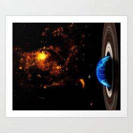 Xhanem Space XXV Art Print