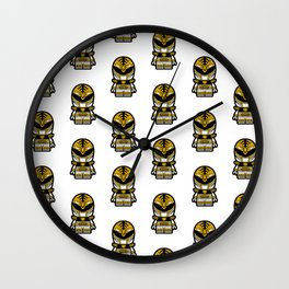 Power Chibi White Ranger Wall Clock