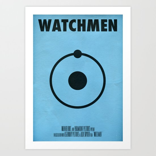 Watchmen - Dr.Manhattan Art Print