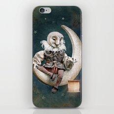 Rucus Studio Owl Poet iPhone & iPod Skin