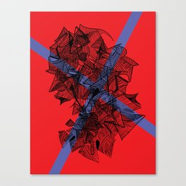 Line Abstraction  Canvas Print
