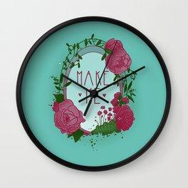 Make Me Wall Clock
