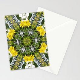 Kaleidoscope of showy St Johns Wort Stationery Cards