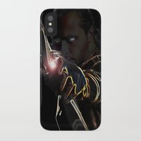 archer iPhone & iPod Cases featuring Archer by Kathryn Loch