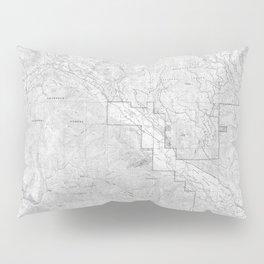 Methow Valley Topography - SeriousFunStudio Pillow Sham