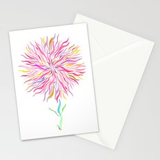 Pink Fairy Flower Stationery Cards