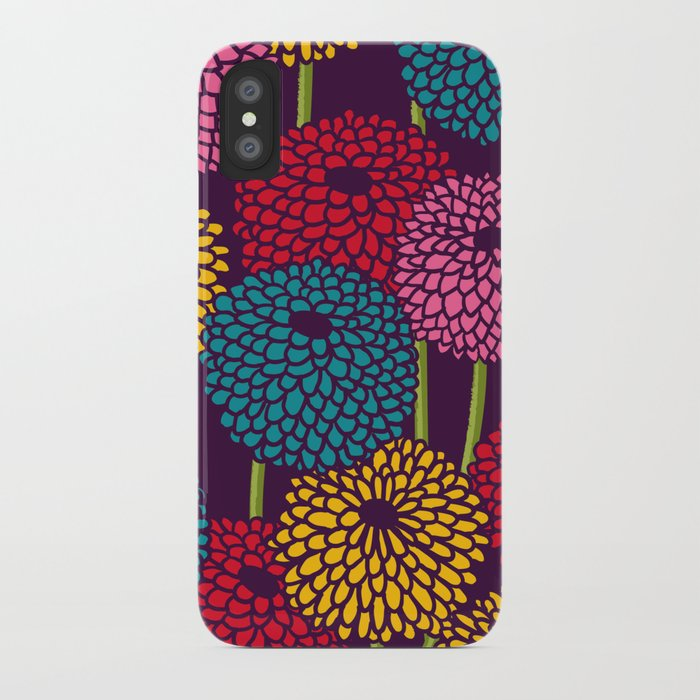 Full of Chrysanth iPhone Case