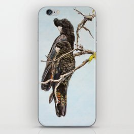 Black Cockatoos iPhone Skin