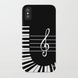 Piano Keys I iPhone Case