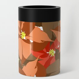 Poinsettia Love Can Cooler