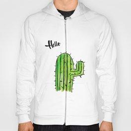 Hello Cactus Hoody