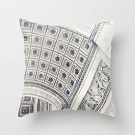 L' Arc de Triomphe Throw Pillow