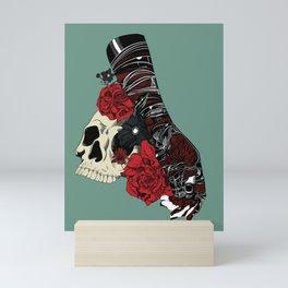 Grief on fingertips Mini Art Print