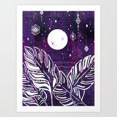 balancing energies Art Print