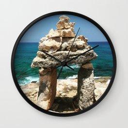 Isla Mujeres Wall Clock
