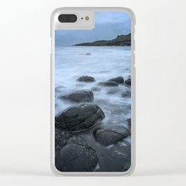 The Castle and the Sea Clear iPhone Case