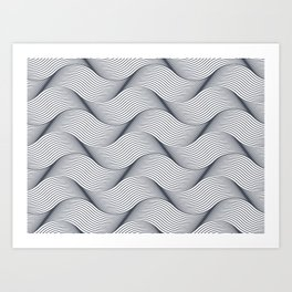 Abstract Texture 1 Art Print