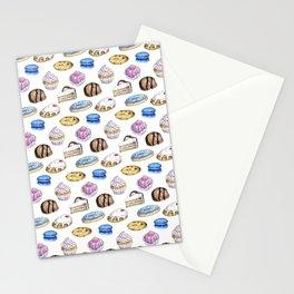Cake Pattern Stationery Cards