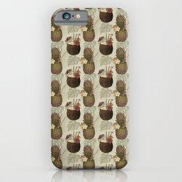 Pineapple Pina Coladas iPhone Case